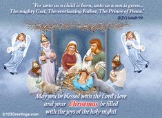 Christmas Message to all!