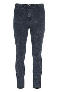 Primark - Light Wash High Waisted Denim Jeans