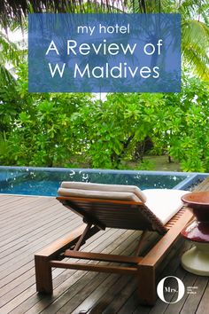 The W Maldives is located in the North Atoll on a small island, and the 78-room resort is only accessible by seaplane, which can take between 25-45 minutes (depending if it makes other stops along the way). The very secluded and private beach villas come with a private pool and direct beach access. Perks included post its in our bathroom inviting us for a free 2nd drink at the bar. There are many 'Sweet Spots' by our room, where you could help yourself to soft drinks, ice cream water, and…