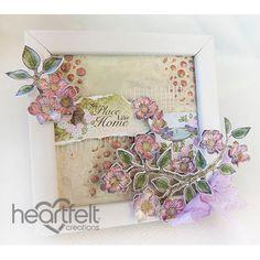 Heartfelt Creations - Home Mini Canvas Project