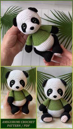 Crochet For Kids, Crochet Ideas, Free Crochet, Knit Crochet, Crocheted Animals, Crocheted Toys, Crochet Patterns Amigurumi, Crochet Dolls, Handmade Dolls