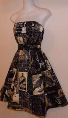 Edgar Allen Poe's The Raven Dress