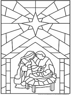 """Stained Glass"" Christian Christmas Nativity Scene Collaboration Poster - ""Stained Glass"" Christian Christmas Nativity… by Art with Jenny K Stained Glass Christmas, Stained Glass Crafts, Faux Stained Glass, Stained Glass Patterns, Fused Glass, Nativity Coloring Pages, Bible Coloring Pages, Christmas Nativity Scene, Christmas Art"