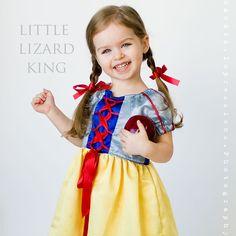 Princess Dress Sewing Pattern Girls Dress door littlelizardking, $8.00