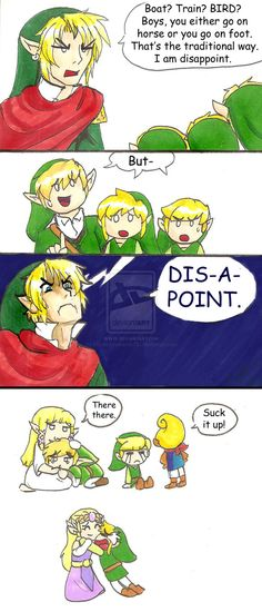 Past Hero Link is Disappoint: Part 2 by hopelessromantic721 on deviantART