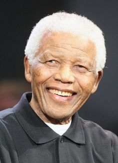 Nelson Mandela - R.I.P December 5, 2013  ~  He lived to be 95 years old, amazing. He gave the world so much with so little.  Truly he is a great lost for all humanity, and his legendary life will live on forever.