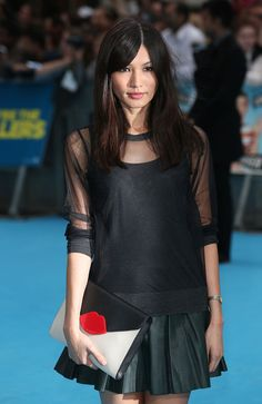Gemma Chan Photos - Gemma Chan attends the European premiere of 'We're The Millers' at Odeon West End on August 2013 in London, England. - 'We're the Millers' Premieres in London — Part 5 Gemma Chan, Crazy Outfits, Feminine Dress, Look Chic, Beautiful Asian Girls, Asian Fashion, Style Me, Celebrity Style, Street Style