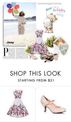 """happy birthday sweet thing"" by smile2528 ❤ liked on Polyvore featuring Nearly Natural and Chanel"