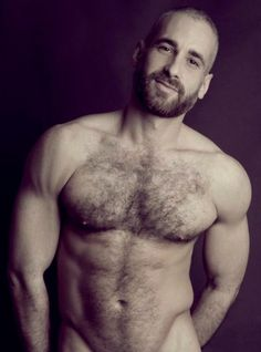 With you hairy naked bears posing same... Plausibly