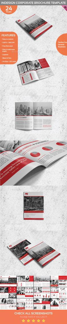 Company Profile - A4 Company profile, Corporate brochure and - business manual template