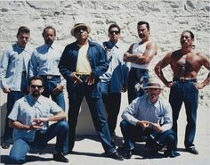 Blood In Blood Out...Vatos Locos My 2 main guys from this pic is El Mero Mero & Magic