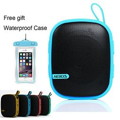 Special Offers - Outdoor Bluetooth Speaker AEDILYS Best Portable Outdoor and Shower Bluetooth Speaker by AYL Sound Fit Waterproof Powerful 5W Audio Driver Pairs with All Bluetooth Devices - In stock & Free Shipping. You can save more money! Check It (September 14 2016 at 12:51PM) >> http://hometheatersusa.net/outdoor-bluetooth-speaker-aedilys-best-portable-outdoor-and-shower-bluetooth-speaker-by-ayl-sound-fit-waterproof-powerful-5w-audio-driver-pairs-with-all-bluetooth-devices/
