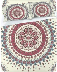 #DENY Designs             #love                     #DENY #Designs #Home #Accessories #Belle13 #Paisley #Mandala #Love #Sheet     DENY Designs Home Accessories | Belle13 Paisley Mandala Love Sheet Set                                  http://www.seapai.com/product.aspx?PID=147906