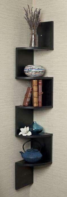 Estantes flotantes de pared de madera maciza para dormitorio juego de 2 sala de estar ba/ño cocina LAVIEVERT oficina