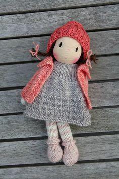 Waldorf doll Waldorf knitted doll 8 Rhune
