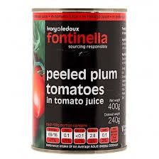 Fontinella Peeled Plum Tomatoes    400g    rrp    68p    Our deal 3 for £1.00    BB 31st July 2018   Shop this product here: http://spreesy.com/DiscountFoodsofLincoln/297   Shop all of our products at http://spreesy.com/DiscountFoodsofLincoln      Pinterest selling powered by Spreesy.com