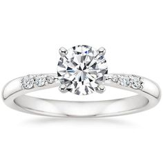 18K White Gold Lark Diamond Ring from Brilliant Earth -- There is a setting named after me!