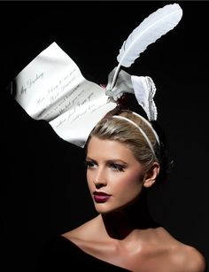 Richard Nylon Millinery , just omit the hand. Annalisa · cappelli  stravaganti