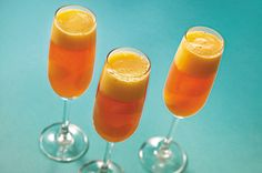 Sparkling Mimosas recipe #Jellorecipes