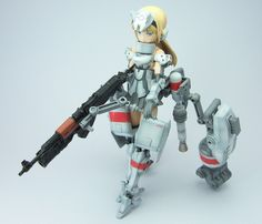 Embedded image Anime Figures, Action Figures, Frame Arms Girl, Toy Collector, Female Anime, Cool, Mini, Anime Art, Fan Art