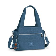 NEW STYLE Kipling ELYSIA Handbag/Shoulder Bag JAZZY BLUE Fall 2016  RRP £79