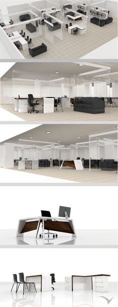 Proyecto de interiorismo, Espacios de trabajo, Alcaldía de Fontibón