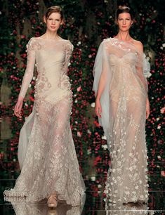 abed mahfouz couture 2011, it's wedding dress meets lingerie and it is soooo good!