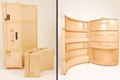 Luxury Luggage Now Available In Elegant Yet Quirky Designs - Elite Choice Luxury Luggage, Best Luggage, Luggage Sets, Kelly Wearstler, Plywood Furniture, Designer Luggage, Vintage Luggage, Vintage Suitcases, Fallout New Vegas