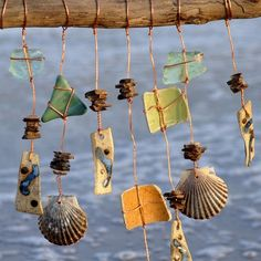 wind chime mobile - an idea