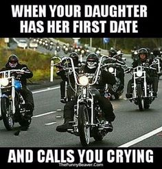 president of the American Outlaw Association (Outlaws) motorcycle gang . Outlaws Motorcycle Club, Motorcycle Humor, Motorcycle Clubs, Ride Out, Bike Quotes, Harley Bikes, Bd Comics, Dc Memes, Funny Relatable Memes