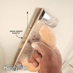 Drywall Sanding Tips and Techniques Average Kitchen Remodel Cost, Kitchen On A Budget, Kitchen Tools, Sanding Tips, Hanging Drywall, Drywall Finishing, Drywall Repair, Drywall Tape, Home Fix