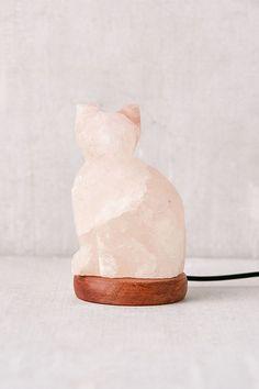 Slide View: 2: Mini Color-Changing USB Cat Himalayan Salt Lamp