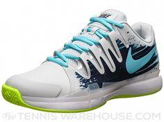 Nike Zoom Vapor 9.5 Tour Clay Grey/Navy Men's Shoe