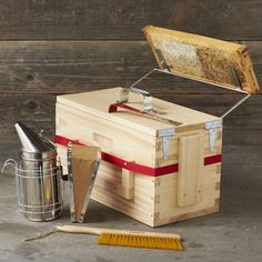 Beekeeper's Box-for the future when i want to have fresh honey and be stung by hundreds of angry bees