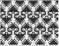All Over 08 | Free chart for cross-stitch, filet crochet | Chart for pattern - Gráfico