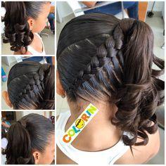 hair vitamins hairstyles on short hair hairstyles to try girl hairstyles for school hairstyles professional hairstyles quotes hairstyles with headbands curly hairstyles Girls Hairdos, Girls Braids, Fancy Hairstyles, Little Girl Hairstyles, Braided Hairstyles, Teenage Hairstyles, Hairstyles Men, Hair Dos For Kids, Childrens Hairstyles