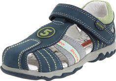 Beeko Quarto Sandal  (Toddler),Navy,19 M EU (4-4.5 M US Toddler) Beeko. $51.00. leather. Made in China. Rubber sole