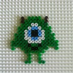 Mike Monsters Inc. perler beads by conny_draws