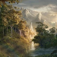 Doriath. Doriath is the realm of the Sindar, the Grey Elves of King Thingol in Beleriand. Along with the other great forests of Tolkien's legendarium such as Mirkwood, Fangorn and Lothlórien it serves as the central stage in the theatre of its time, the First Age.
