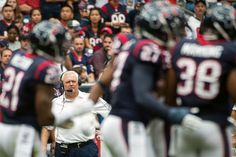 Ah...Wade Phillips, this man is close to a god! (Smiley N. Pool / Houston Chronicle)