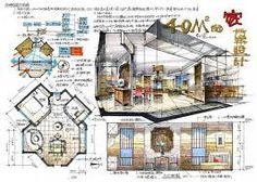 ผลการค้นหารูปภาพสำหรับ hand drawn product design renderings Architecture Portfolio Layout, Landscape Architecture Drawing, Concept Architecture, Architecture Design, Drawing Interior, Interior Design Sketches, Sketch Design, Interior Design Presentation, Project Presentation