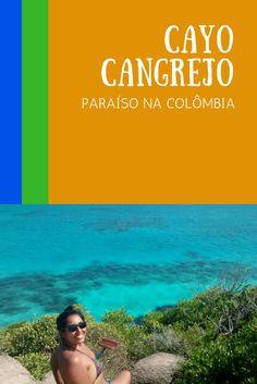 Cayo Cangrejo fica na Ilha Providência, na Colômbia. Para chegar lá, é preciso pegar um catamarã ou um avião desde San Andrés. Veja todas as dicas no deboanatrip.com