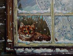 Зимняя сказка - Анималистика - ЖИВОПИСЬ - Каталог картин | Магазин картин