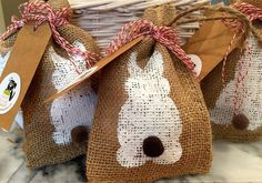 Easter Themed Doggy Bags from our friends at #Thecaninekitchen