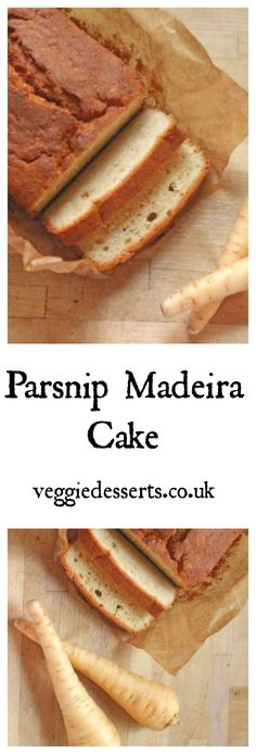 Parsnip Madeira Cake | Veggie Desserts Blog` This Parsnip Madeira cake is one of my favourite vegetable cakes. The parsnip gives this loaf cake a subtly nutty sweetness and moisture and it's very easy to make. Veggiedesserts.co.uk