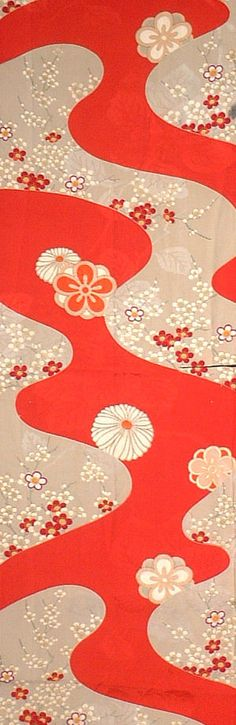 Japanese kimono fabric