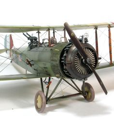 Gas Patch Models 1/48 WWI Salmson 2A2 by Brad Cancian. Image 6