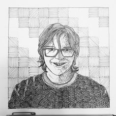 My oldest, Riley, asked me to draw a profile pic for him. This is how it turned out.  #pensketch #inkart #penandpaper #inkandpaper #inkwork #micronpens #sketch #portrait #crosshatching #profilepictures #art #winnipeg #winnipegartist #winnipegart #sketchyreputation
