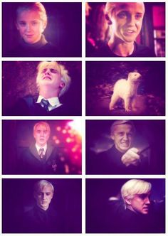 Draco Malfoy Evolution<<< He looked absolutely gorgeous in year two with that arrogant smile ...