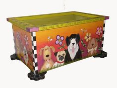 FREE+SHIPPING/+Pet+toy+box/+Pet+storage/+Dog+toy+by+woodwithheart,+$475.00
